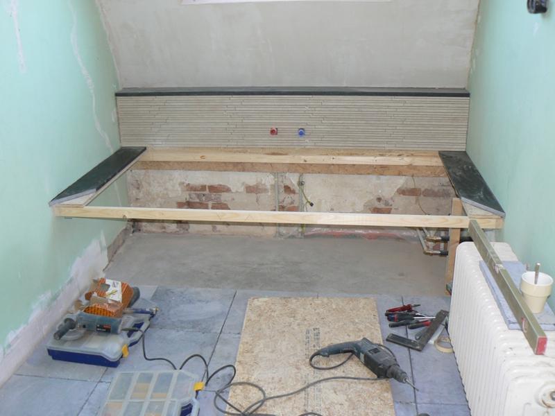 Badkamer op zolder – PDB montage – klussen