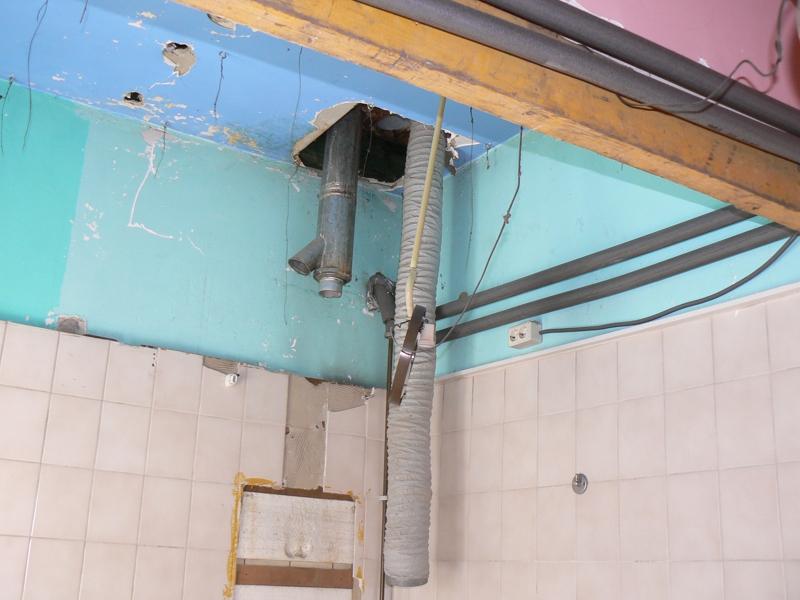 plafondschroten badkamer: plafond afwerking. plafondsysteem, Badkamer