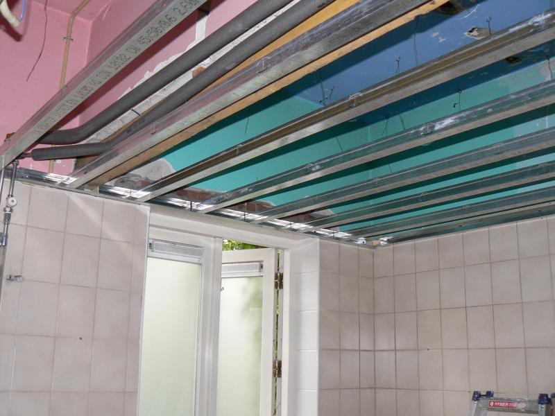 Plafond – PDB montage – klussen